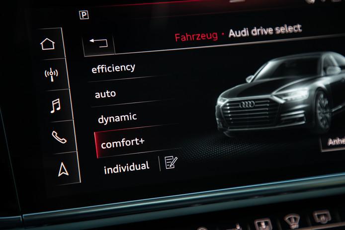 Audi Drive Select biedt verschillende rijstanden