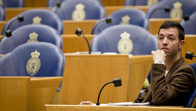 Tofik Dibi in de Tweede Kamer Beeld