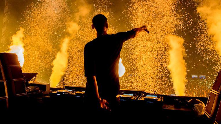 DJ Afrojack Beeld ANP