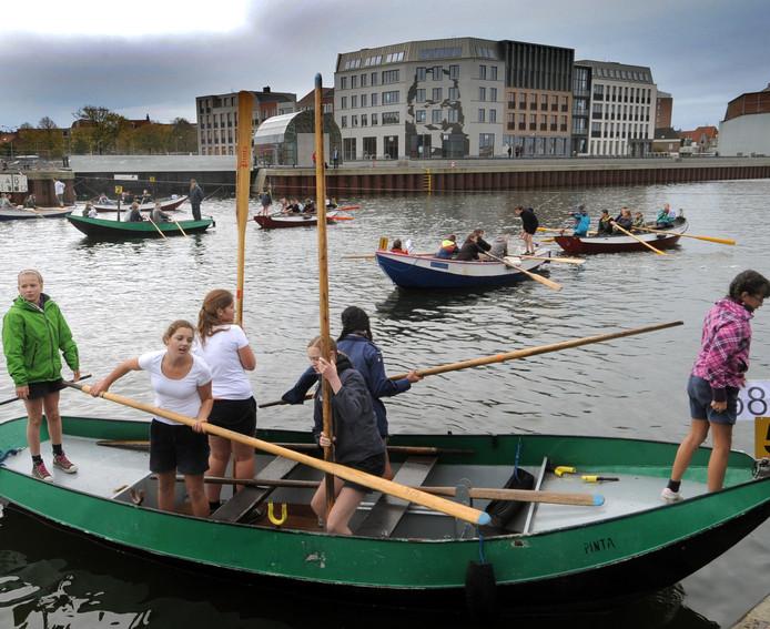 Met het Jeugdcultuurfonds konden zeven kinderen meedoen met de waterscouts.