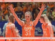 Oranje volleybalsters niet opgewassen tegen Japan