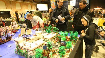 Meer dan 2.000 bezoekers voor Lego-beurs