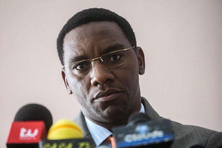 Paul Makonda, de gouverneur van Dar es Salaam, staat bekend om zijn onconventionele ideeën om vrouwenrechten te verbeteren.  Beeld AFP, Khalfan Said Hassan