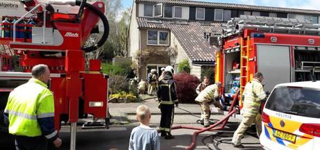 Zolderbrand in woning Soest, bewoners niet thuis