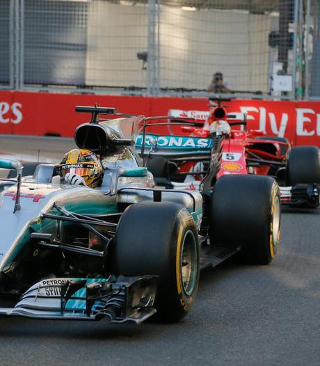 Hamilton: Wat Vettel deed was een schande, walgelijk rijgedrag