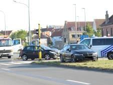 Defecte verkeerslichten zorgen voor aanrijding langs Brugse Ring