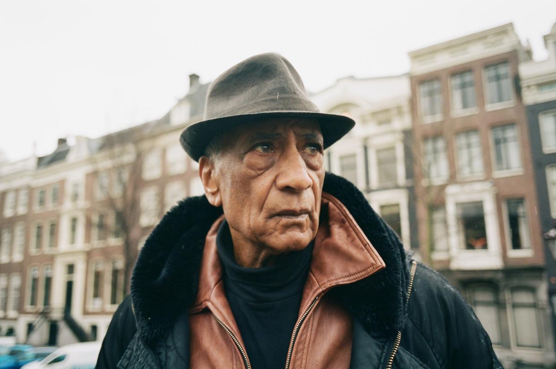 Acteur Jack Monkau in Amsterdam. Beeld Jolijn Snijders