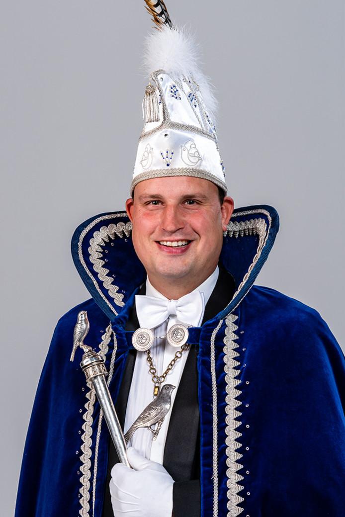 Prins Jeroen van Bergkneuters Handel