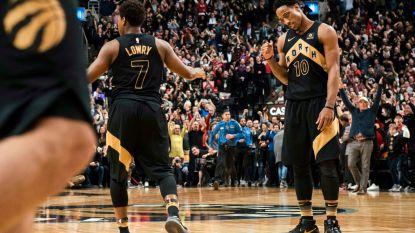 Toronto zet Houston met voeten op de grond in de NBA