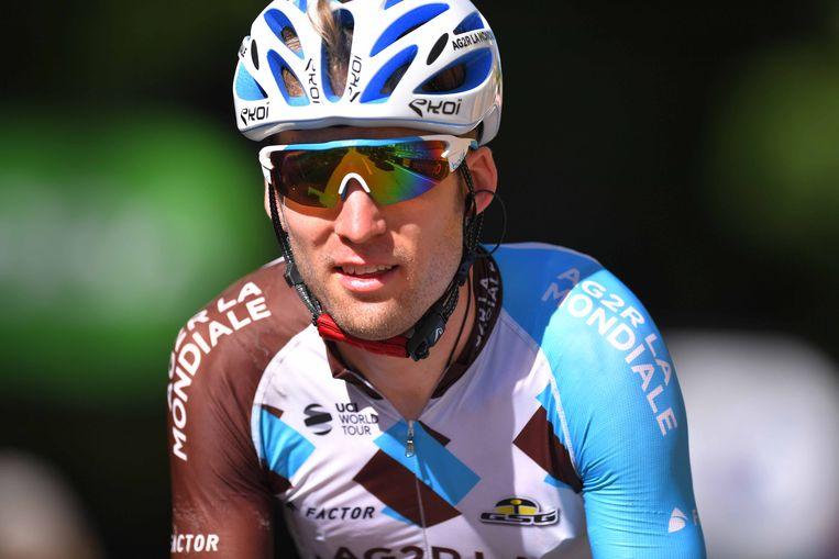 Jan Bakelants moet in deze Tour vooral knechten voor Romain Bardet.