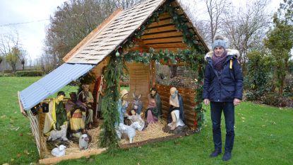 Kerstverhaal leeft in tuin van François