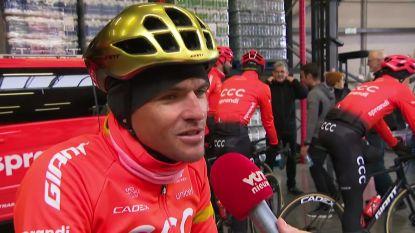 """Van Avermaet verkent Omloop-parcours: """"Ik verwacht er wel veel van"""""""
