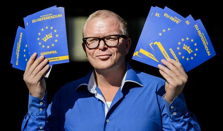 Jan Roos is aanvoerder van de campagne 'GeenPeil'. Beeld anp