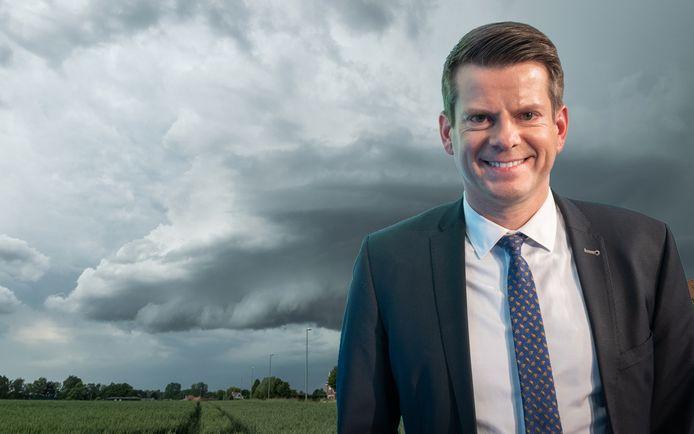 Le météorologue David Dehenauw.
