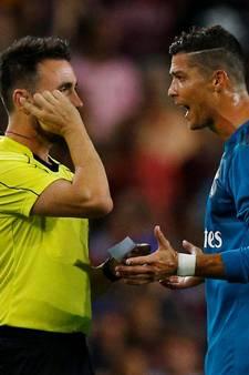 Ronaldo vijf wedstrijden geschorst na rood en duwen arbiter