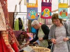 Liefhebbers van textielkunst 'hoppen' dit weekend door de Weerribben