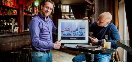 De Tullepetrein rijdt Roosendaalse leutkeutels met carnaval door de stad: 'Kun je mooi je energie sparen voor het feest'