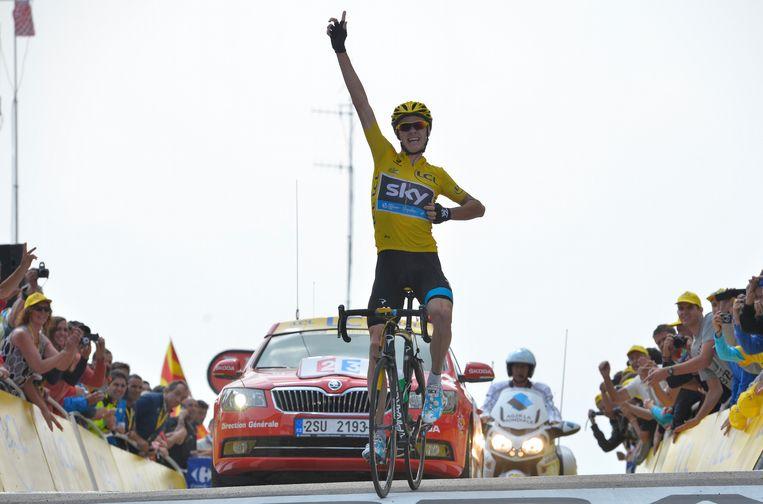 Froome imponeerde in de 15de etappe van de Tour van 2013. Op de Mont Ventoux reed hij iedereen in de vernieling.