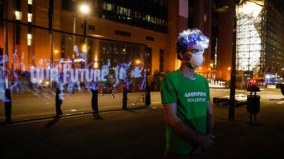 """Klimaatactivisten houden hologrammenbetoging: """"We blijven thuis, maar we gaan niet zwijgen"""""""