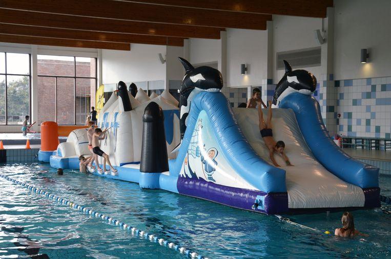 De stad Leuven mocht zo'n 900 bezoekers verwelkomen in het zwembad van Kessel-Lo tijdens de Zwembaddagen.