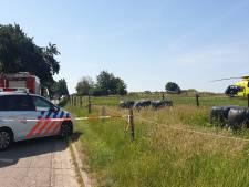 Man valt uit boom, traumaheli landt in Groesbeek