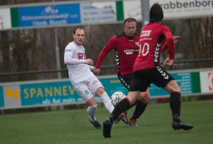 De laatste wedstrijd die RKZVC speelde was op zondag 8 maart tegen IFC.