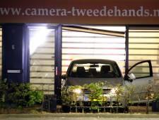 Ramkraak bij camerawinkel in Waardenburg, mogelijk link met uitgebrande Audi Rosmalen