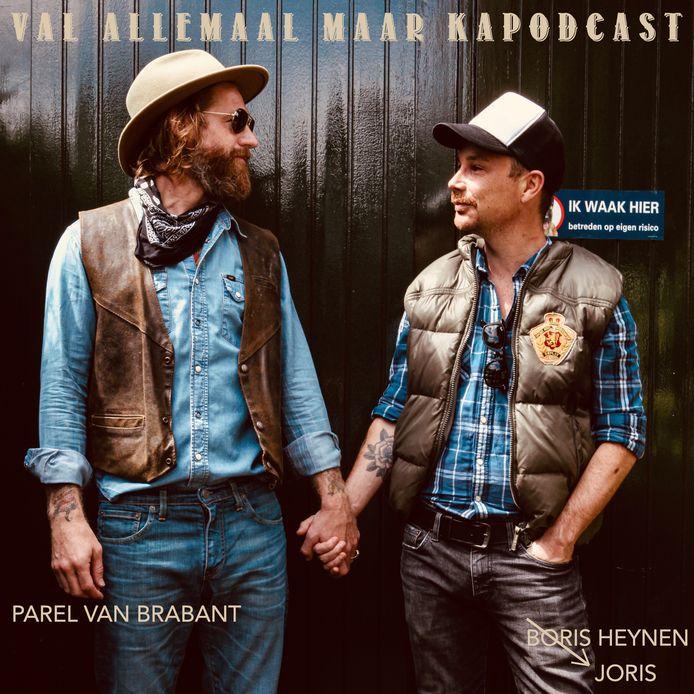 De Val allemaal maar Kapodcast met Björn van der Doelen (links) en Joris Heynen.