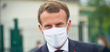 """Emmanuel Macron sur la Biélorussie: """"Il est clair que Loukachenko doit partir"""""""