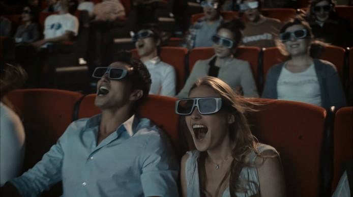 4D-bioscopen maken de filmervaring spannender doordat er meer zintuigen worden geprikkeld.