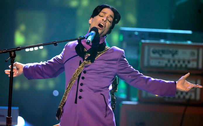 Prince overleed in 2016.