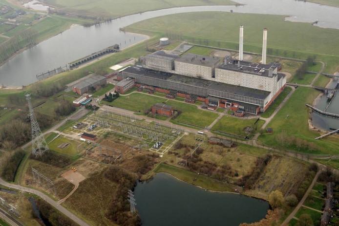 Het terrein van energiecentrale Harculo. foto GDF SUEZ