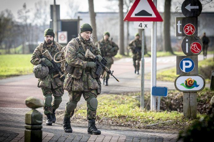 Militairen oefenden eerder dit jaar in Agelo