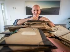 Maarten Mols uit Gemert spitte 25 dozen vol oude bladmuziek door en kwam uit bij de kinderen van Mies Bouwman