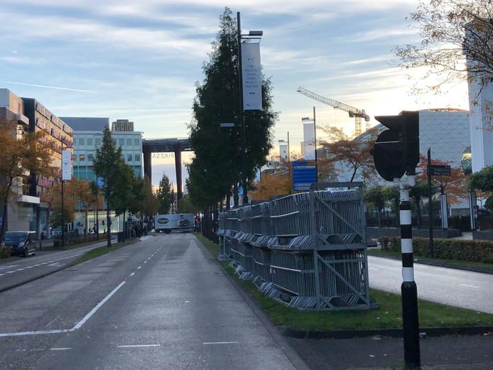 Eindhoven maakt zich in de vroege vrijdagochtend op voor de 35ste Marathon Eindhoven (powered by ASML) op zaterdag 13 en zondag 14 oktober 2018.