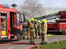 Hulpdiensten uitgerukt voor brand in paprikakwekerij Bergschenhoek