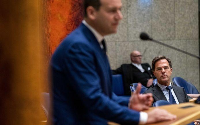 Premier Mark Rutte ontkent dat hij GroenLinks-leider Klaver iets heeft beloofd in ruil voor steun aan de begroting van het kabinet.