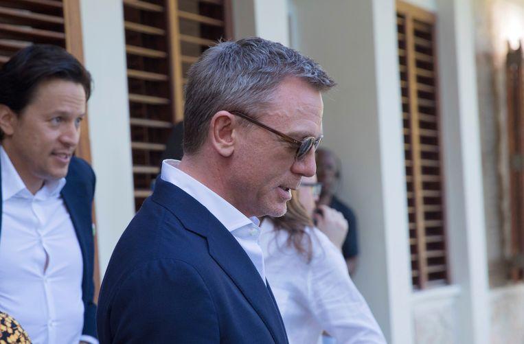 Daniel Craig voor de laatste keer als 007. Beeld AP