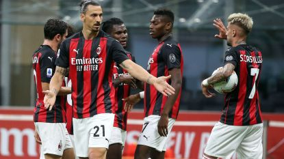 Saelemaekers en Milan sluiten seizoen af met ruime zege tegen Cagliari