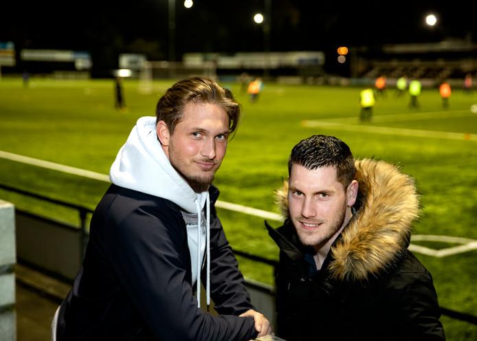 Ralf Kemper (L) en Thijs van Pol vertrekken aan het einde van dit seizoen bij Gemert.