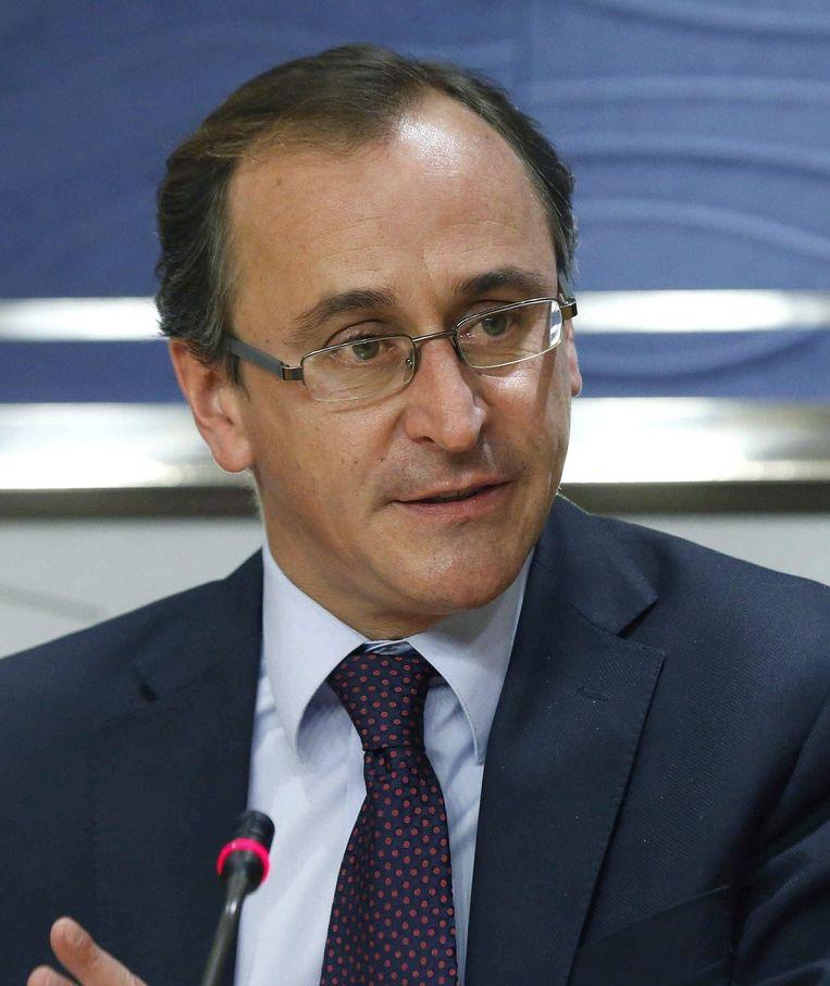De nieuwe minister van Gezondheid in Spanje, Alfonso Alonso.