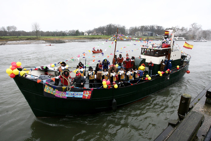 Intocht Sinterklaas in Deventer.