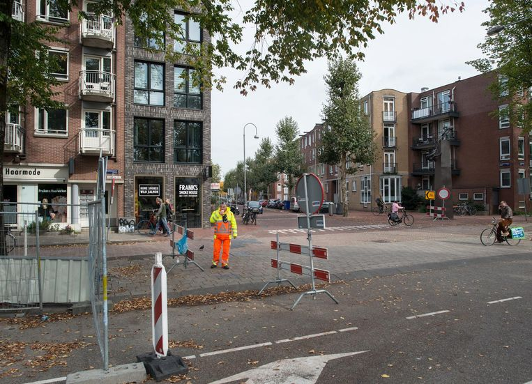 Amsterdam, 08-10-2018, Oostenburgergracht, ingang Oostenburgervoorstraat. Beeld Maarten Steenvoort