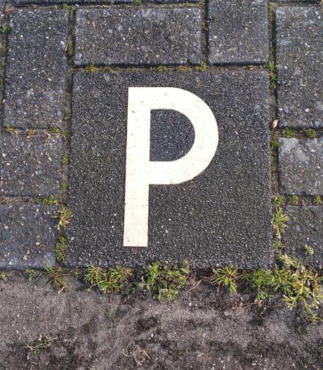 Blauwe zone centrum Nuenen begin 2018