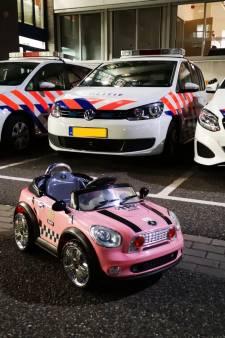 Deze elektrische auto is niet gebruikt als vluchtwagen maar is gestolen