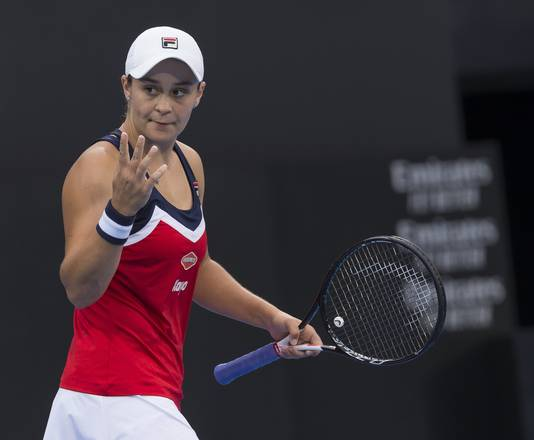 Ashleigh Barty is de tegenstander van Bertens in de halve finale.
