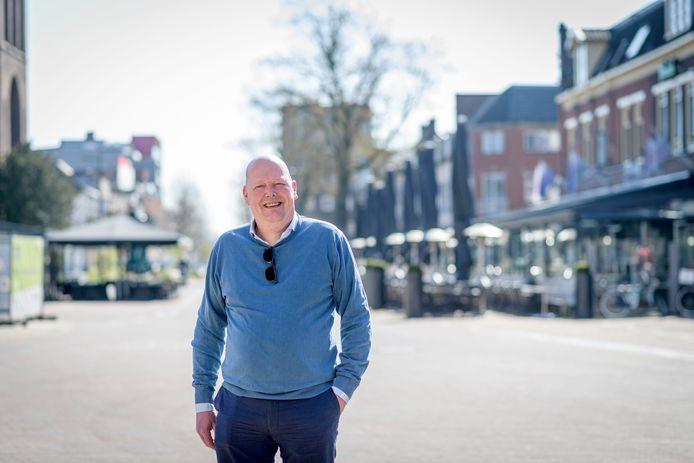 Berto Mulder, voorzitter Koninklijke Horeca Nederland afdeling Hengelo.