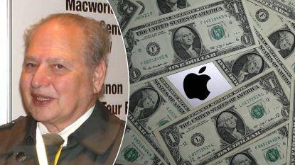 Oprichters Apple waren met drieën: Ronald Wayne verkocht aandelen al na 12 dagen voor 700 euro. Ze zouden nu 82 miljard waard geweest zijn