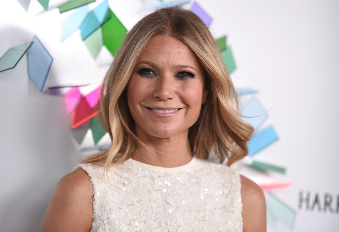 Gwyneth Paltrow  bij een evenement in Californië in 2017. Op haar site Goop stelt Anthony William dat selderijsap een wondermiddel is.