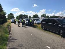 Kettingbotsing tussen vijf auto's in Haarle